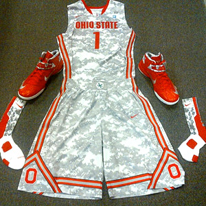 Uniforms Ohio State will wear tonight